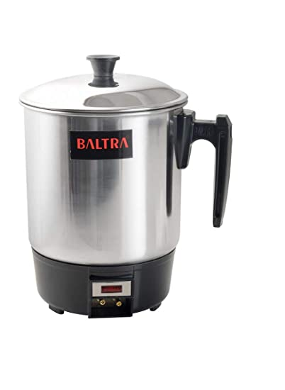 Baltra BHC-102 300-Watt 1.0-Litre Electric Heating Jug (Steel)