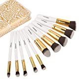 Soobest Makeup Brush Set (white +bag)