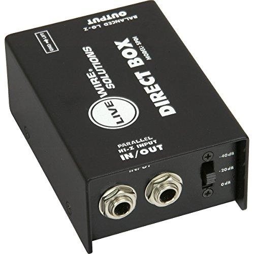 Live Wire Solutions SPDI Passive Direct Box with Attenuation Pad