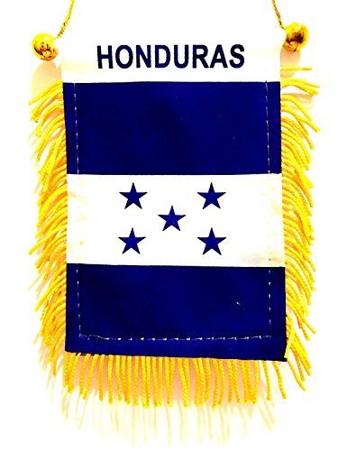Flag Honduras Car (Honduras flag car window automobile van suv trucks small Honduras car flag)