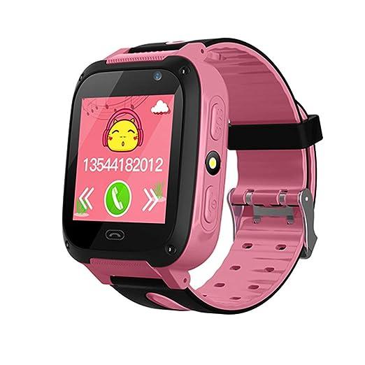 Lzour Inteligente Reloj niños Teléfono - GPS + LBS Rastreador ...