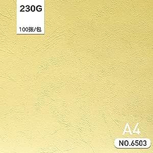 Zhengcai Papelería Papel de cuero A4 cubierta de papel 230
