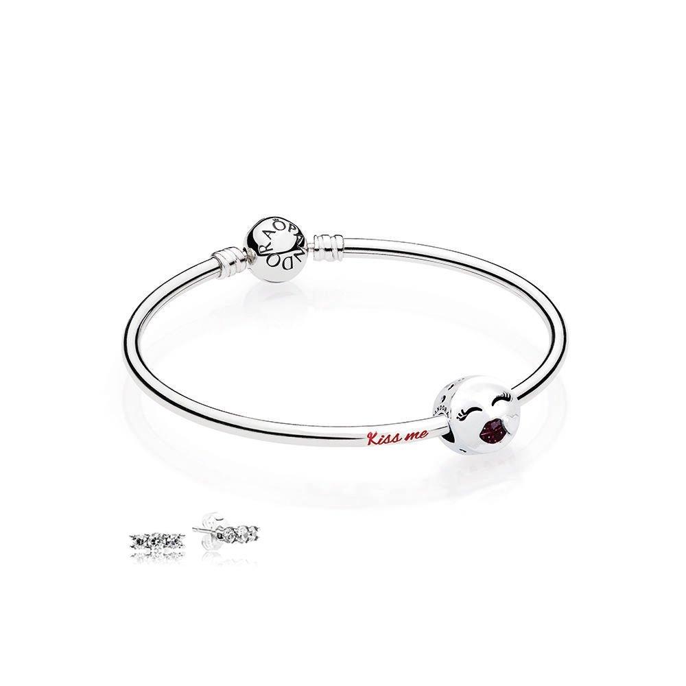 Pandora Kiss Me Bangle Gift Set B800774