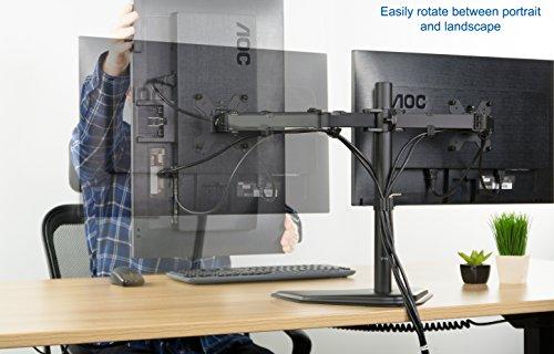 Dual Lcd Monitor Desk Mount