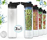 Premium Quality Raw Fountain Fruit Infused Water Bottle + Protein...