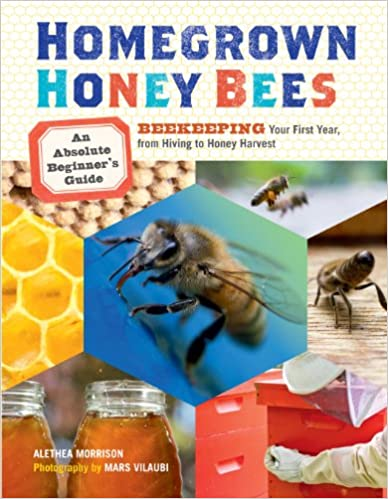 amazon com homegrown honey bees an absolute beginner s guide to