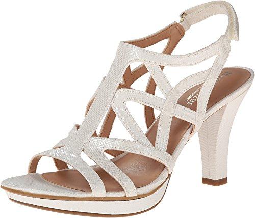 Women High Heels Fashion Breathable Sandals (White) - 7