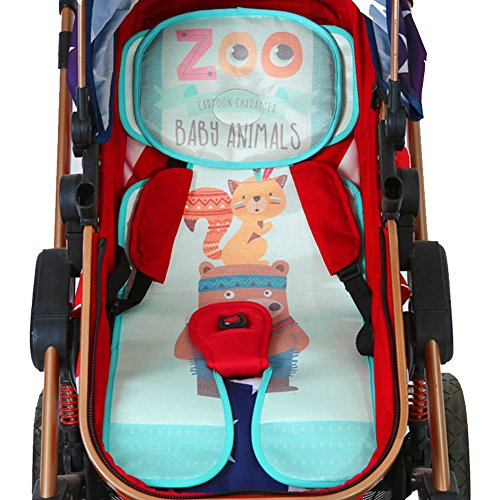 Baby Car Seat Liner, Yanyee Infant Stroller Liner Baby Head and Body Support for Car Seat and Stroller Cool Seat Pad for Summer by Yanyee