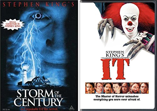 Stephen King Horror - It (1990) & Storm of the Century 2-DVD Bundle