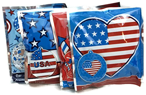 Patriotic Wack-a-Pack Balloon Surprise! Self-inflating Foil Balloons - Various Designs (8 Balloons)