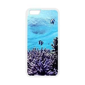"Underwater World New Printed Case for Iphone6 Plus 5.5"", Unique Design Underwater World Case"