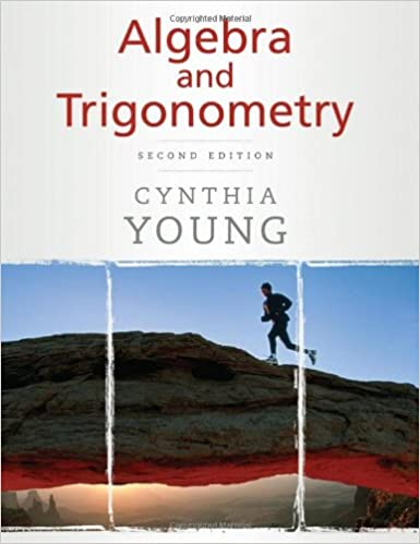 Algebra and trigonometry cynthia y young 9780470222737 amazon algebra and trigonometry 2nd edition fandeluxe Choice Image