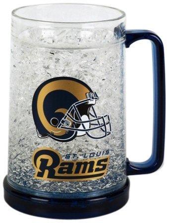 (St. Louis Rams 16oz Crystal Freezer Mug by