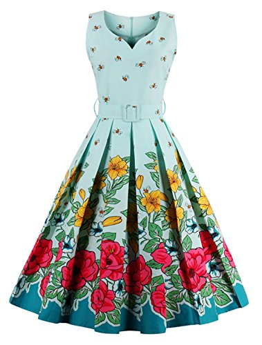 aqua swing dress - 2