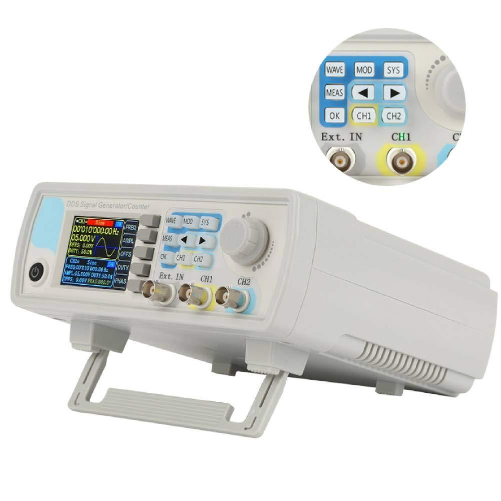 Generador de señal, tipo de extracción reiniciable Dígito Contador de extracción mecánica JDS6600 Contador del generador de señal DDS Control digital de múltiples formas de onda(#4)