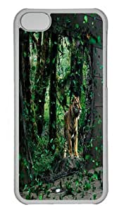 Brave Tigre Apparition Polycarbonate Hard Case Cover for iPhone 5/5S Transparent