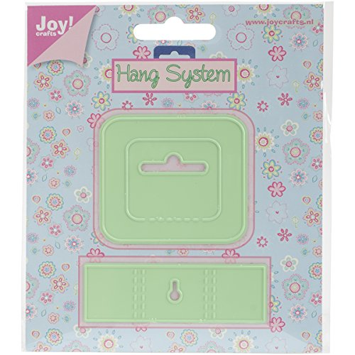 Cutting Systems Die (Joy! Crafts 2-Piece Cutting and Embossing Dies, Hanging System)