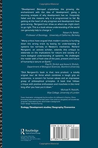 Amazon fr - Development Betrayed - Richard B  Norgaard - Livres