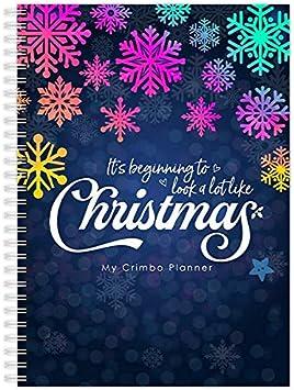 Regali Libro Arcobaleno My Crimbo Planner Colorato Budget A5 Liste di controllo Cucina Organizzatore di Natale