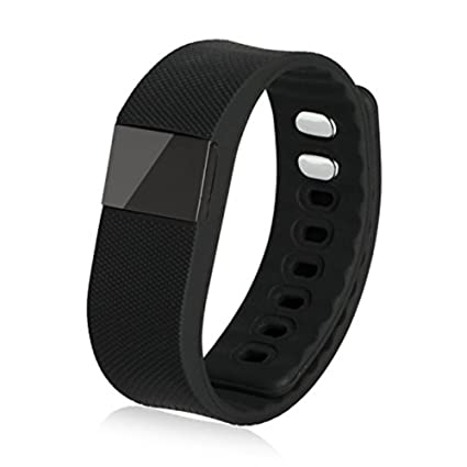 Smart Watch Fitness Activity Tracker Smartband Wristband Tw64 Waterproof Bluetooth 4.0 Intelligent Bracelet for Ios/android-black