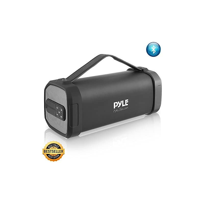Pyle Wireless Portable Bluetooth Speaker