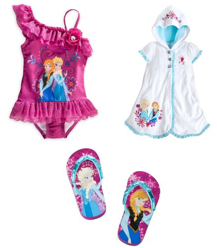Disney Store Frozen Princess Elsa And Anna 3 Piece