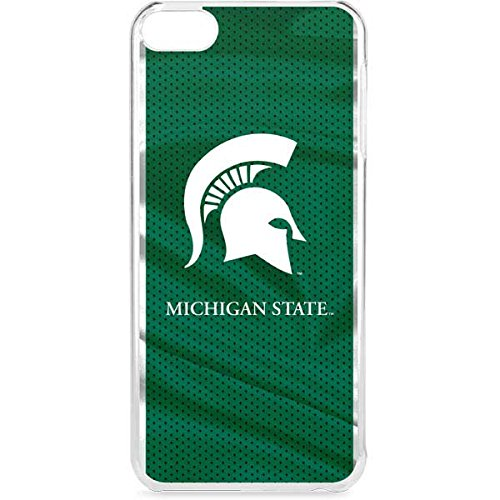 Skinit Michigan State University iPod Touch 6th Gen LeNu Case - Michigan State University Away Grey Jersey Design - Premium Vinyl Decal Phone Cover -