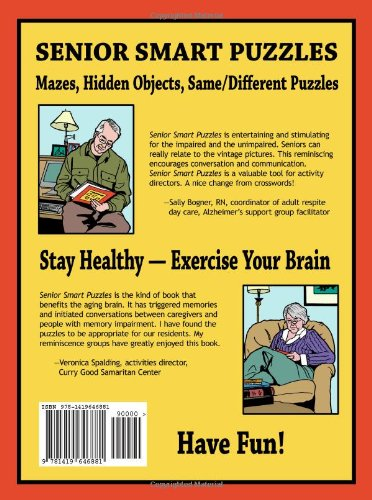 Senior Smart Puzzles: Lindy McClean: 9781419646881: Amazon.com: Books