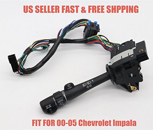 (Multi-Function Switch Turn Signal Dimmer Cruise Wiper Lever Monte Carlo Impala)