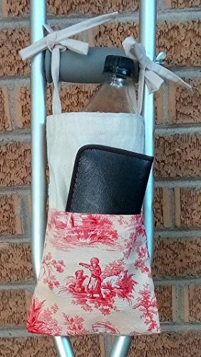 Farm Scene 02 Crutch Bag Pouch Storage from Craft and Sewing Box