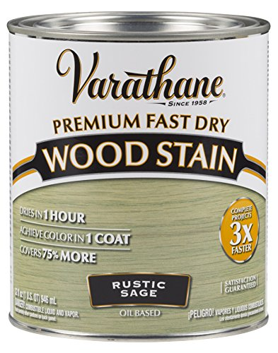 Varathane 297426 Premium Fast Dry Wood Stain 32 oz Rustic Sage