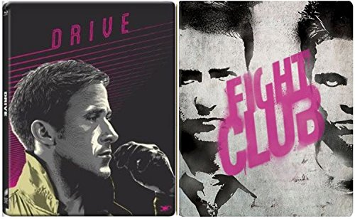 Fightclub & Drive Steelbook Exclusive Limited Edition [Blu-ray] metal Set