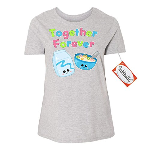 inktastic-together-forever-milk-and-cereal-womens-plus-size-t-shirt-1-14-16-steel-grey