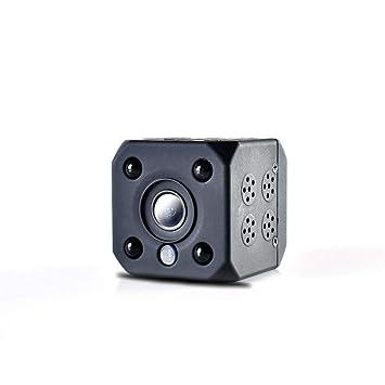Pequeño Mini Monitor Casero WiFi Cámara De Vigilancia De Seguridad De La Red Inalámbrica,Black