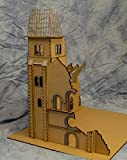 28mm (1/56th scale) Church Bell Tower - 28MMDF600