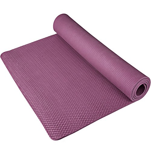 BAXIA TECHNOLOGY Yoga Exercise Mat with Comfort Foam and Carring Strap by BX-yogamat
