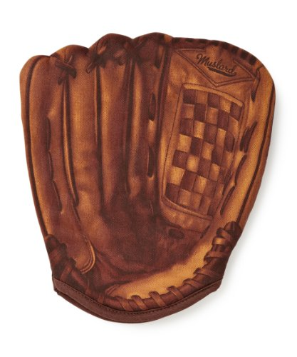Mustard Baseball Oven Mitt Glove - Brown Home Run Oven Mitt