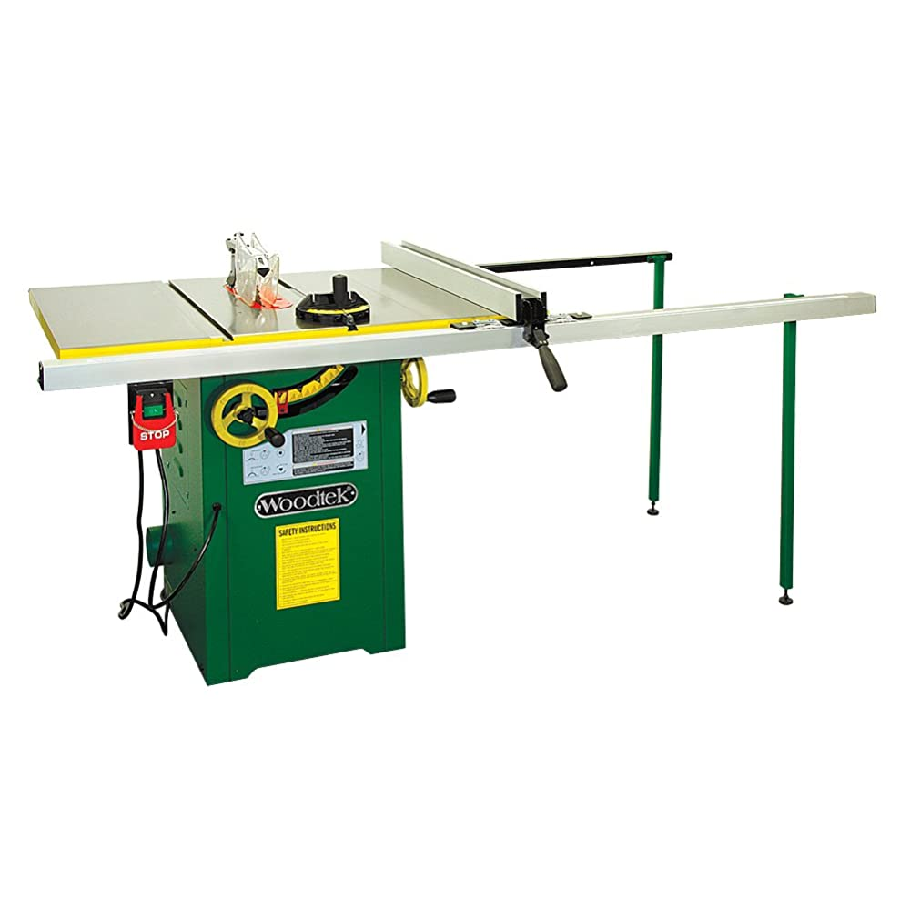 "Woodtek 159665, Machinery, Table Saws, 10"" Left Tile 2hp Hybrid Table Saw, 52"" Fence Review"