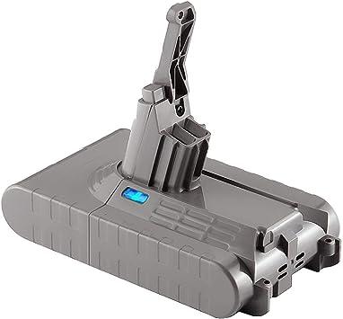Huibatt - Batería de Repuesto para aspiradora Dyson V8 (21,6 V, 3000 mAh): Amazon.es: Electrónica