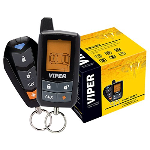 Viper 5305V 2 Way LCD Vehicle Car Alarm Keyless Entry Remorte Start System (Viper 2 Way Remote Start compare prices)