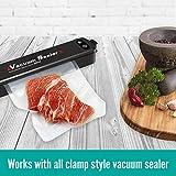 100 Quart PLUS Precut Vacuum Seal Bags 10x13 inch