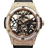 ウブロ HUBLOT クラシックフュージョン クラシコスケルトントゥールビヨン ダイヤモンド 505.OX.0180.LR.0904 新品 腕時計 メンズ (W162685) [並行輸入品]