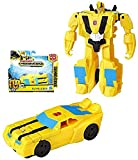 "Buy ""Cyberverse Bumblebee One Step Transformer Action Figure 4.5"""" on AMAZON"