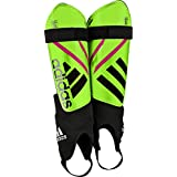adidas Performance Ghost Replique Shin Guard, Solar Green/Black/Shock Pink, Small