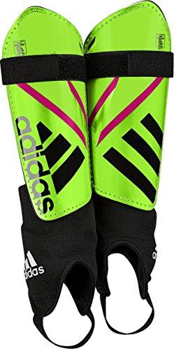 adidas Performance Ghost Replique Shin Guard, Solar Green/Black/Shock Pink, Medium