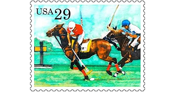 English Pirate Horse Polo de US Postal Service de impresión Sobre ...