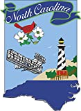 Evergreen Flag State of North Carolina 2 Sided Applique Banner Review