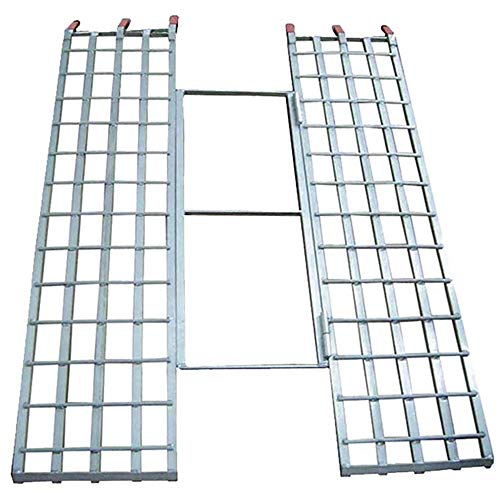 Rage Powersports Black Widow Aluminum Tri-Fold Extra-Wide ATV Loading Ramp - 71