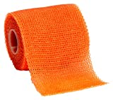 3M Scotchcast 82002W Plus Casting Tape, Bright Orange 2'' x 4 Yard (Pack of 10)