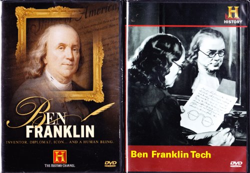 Ben Franklin Tech , Ben Franklin Inventor , Diplomat , Icon : The History Channel Ben Franklin 2 Pack (Diplomat Collection)